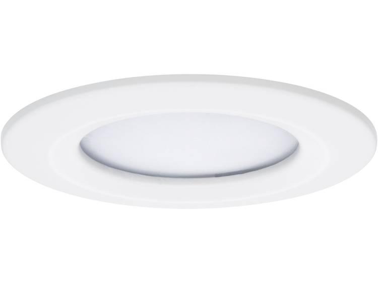 LED badkamer inbouwlamp 6.8 W Paulmann Coin Warmwit Wit (mat)