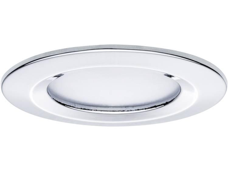 LED badkamer inbouwlamp Set van 3 20.4 W Paulmann Coin Warmwit Chroom