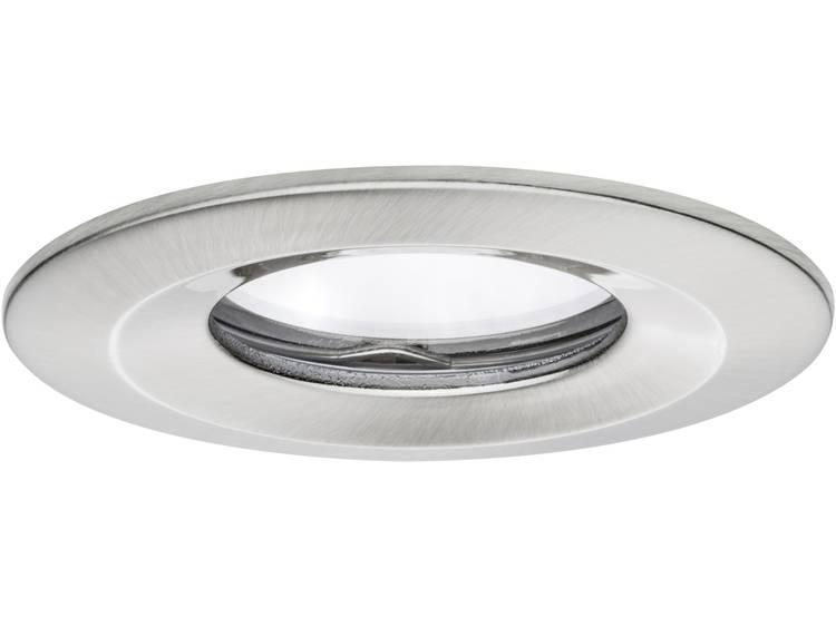 Paulmann Coin 93882 LED-inbouwlamp 6.8 W Warmwit IJzer (geborsteld)