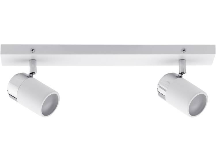 Badkamer plafondlamp LED GU10 20 W Paulmann Zyli 66711 Wit, Chroom