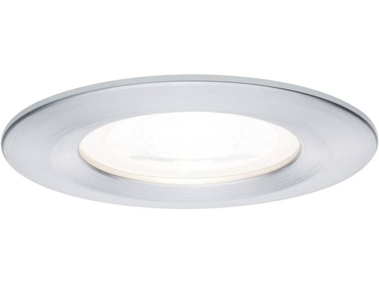 Paulmann Nova Badkamer inbouwlamp Set van 3 LED GU10 21 W Aluminium (geborsteld)
