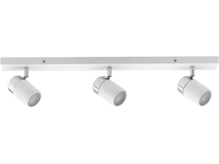 Badkamer plafondlamp LED GU10 30 W Paulmann Zyli 66713 Wit, Chroom