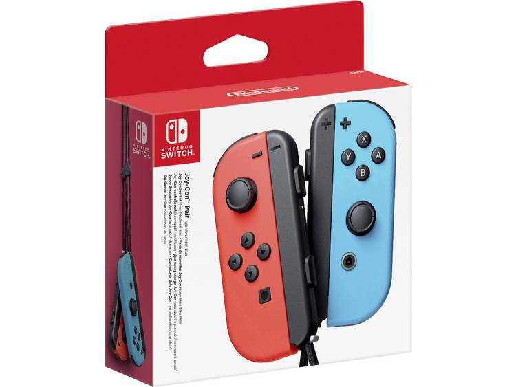 Nintendo Gamepad Nintendo Switch Neon-rood, Neon-blauw