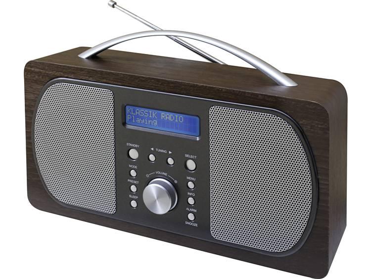 DAB+ Transistorradio SoundMaster DAB600DBR DAB+, FM Donkerbruin