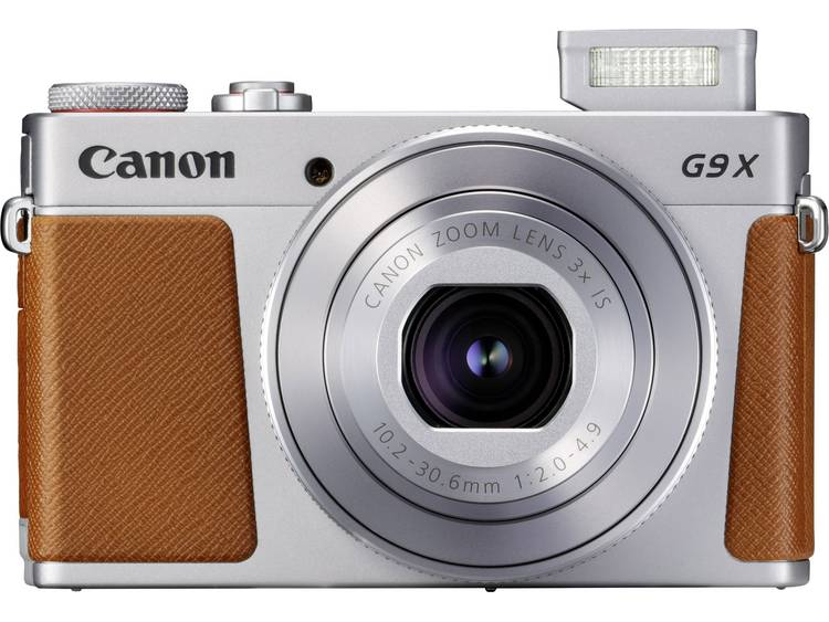 Digitale camera Canon G9 X Mark II 20.9 Mpix Zilver Full-HD video-opname, GPS, Bluetooth