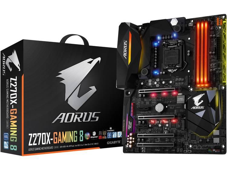 Gigabyte GA-Z270X-Gaming 8 Moederbord Socket Intel® 1151 Vormfactor ATX Moederbord chipset Intel® Z270