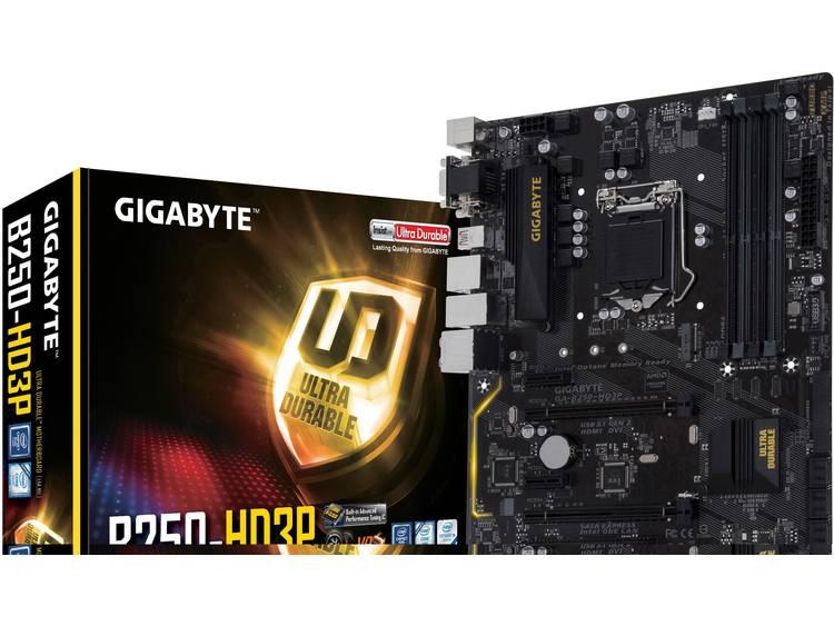 Gigabyte GA-B250-HD3P Moederbord Socket Intel® 1151 Vormfactor ATX Moederbord chipset Intel® B250