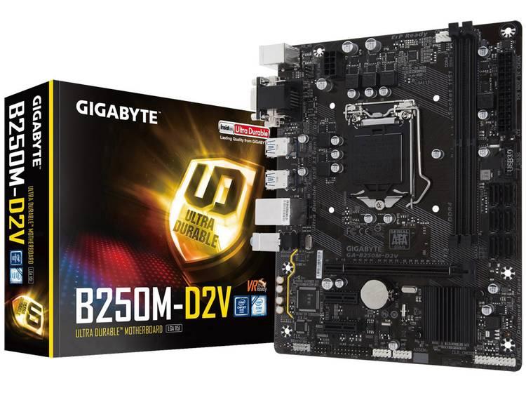 Gigabyte GA-B250M-D2V Moederbord Socket Intel® 1151 Vormfactor Micro-ATX Moederbord chipset Intel® B250