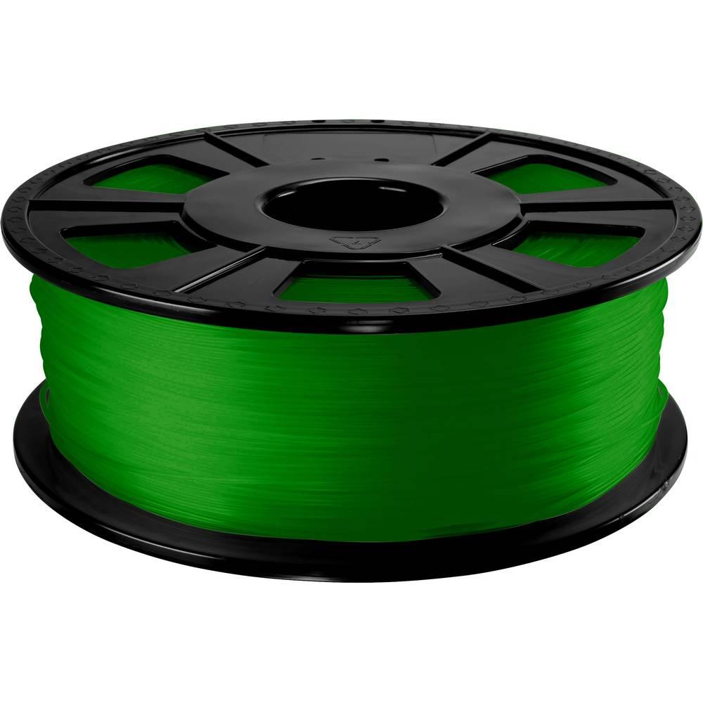 3D-skrivare Filament Renkforce PETG 2.85 mm Grön 1 kg