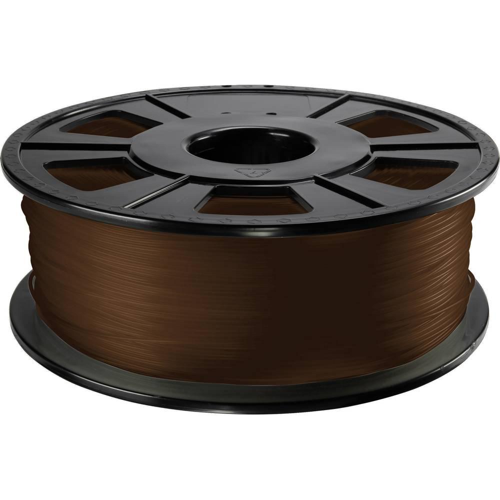3D-skrivare Filament Renkforce PLA-plast 2.85 mm Brun 1 kg