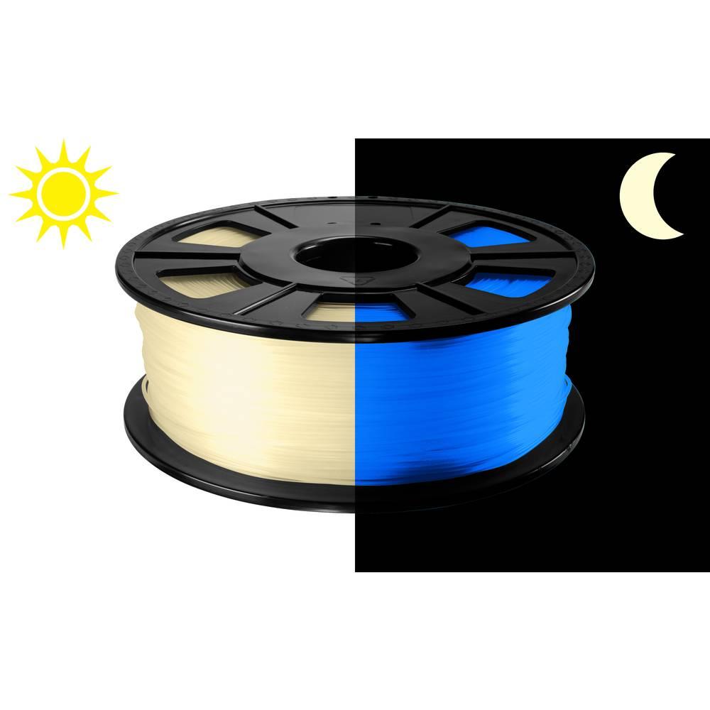 3D-skrivare Filament Renkforce PLA-plast 2.85 mm Blå (fluoriserande) 500 g