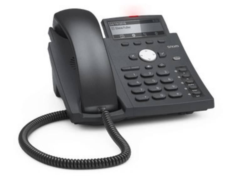 SNOM D315 VoIP systeemtelefoon Zwart