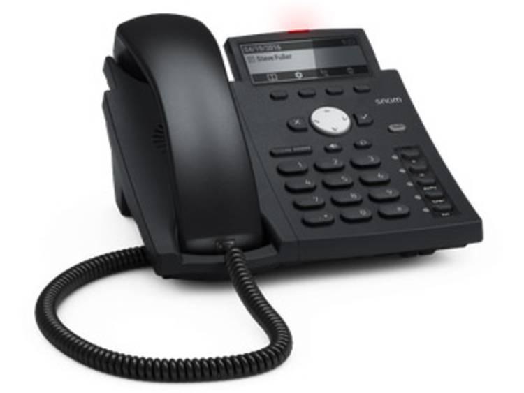 SNOM D305 VoIP systeemtelefoon Zwart