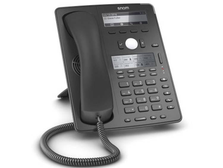 SNOM D745 Bedrade VoIP telefoon Zwart