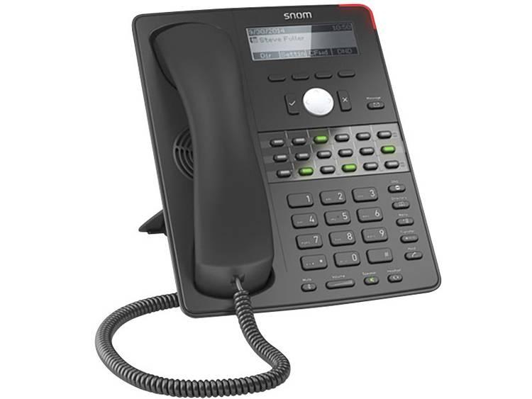 SNOM D725 Bedrade VoIP telefoon Zwart