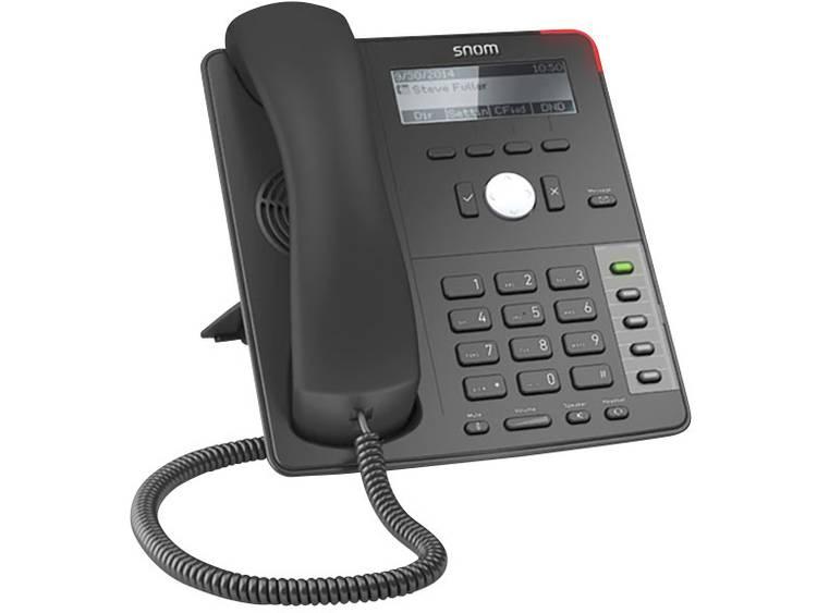 SNOM D710 Bedrade VoIP telefoon Zwart