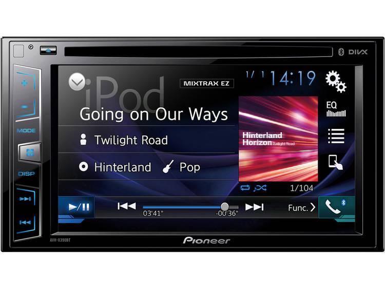 Pioneer AVH-X390BT 2-DIN Autoradio met Bluetooth en USB
