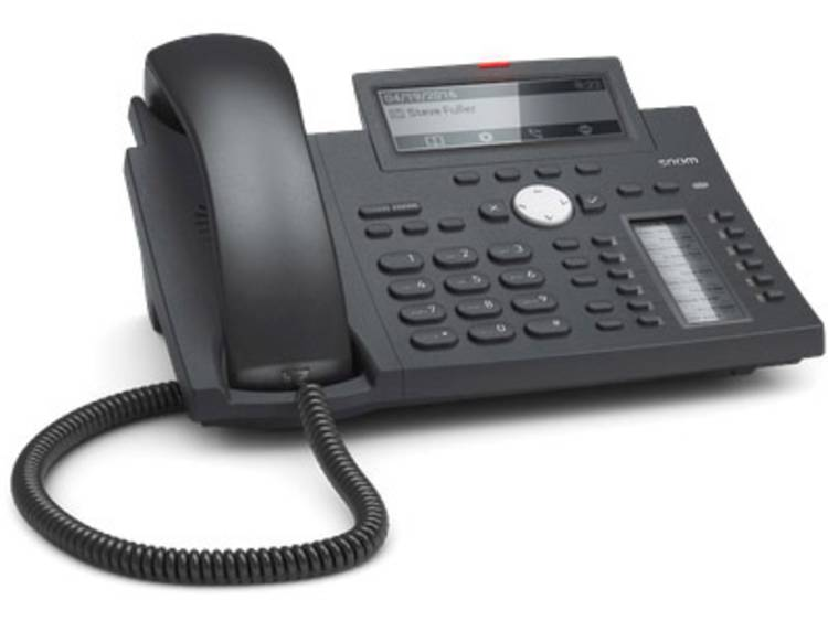 SNOM D345 Bedrade VoIP telefoon Zwart
