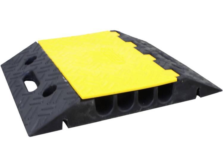 VISO Kabelbrug Zwart, Geel Aantal kanalen: 4 500 mm Inhoud: 1 stuks