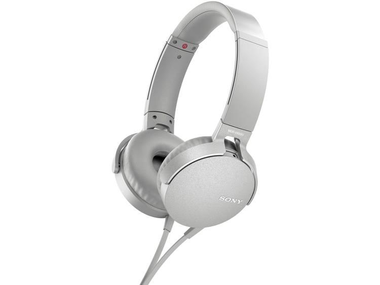 Sony MDR-XB550AP HiFi Koptelefoon Wit