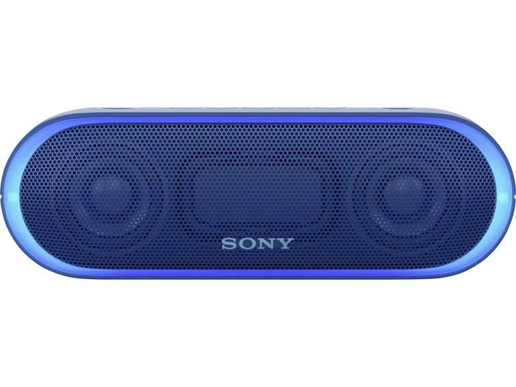 Sony SRS-XB20 Bluetooth luidspreker AUX, Spatwaterdicht Blauw