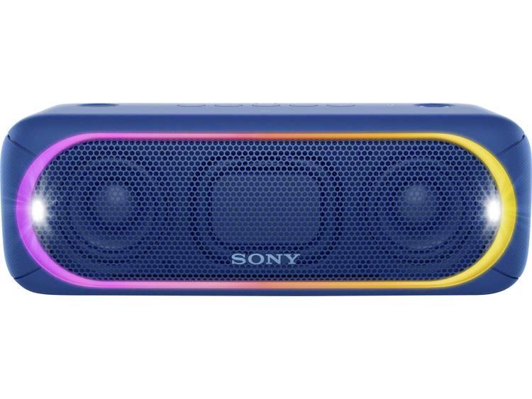 Sony SRS-XB30 Bluetooth luidspreker AUX, Spatwaterdicht Blauw