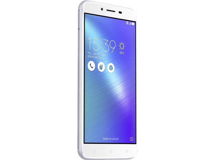 Asus ZenFone 3 Max ZC553KL Hybrid-SIM LTE smartphone 14 cm (5.5 inch) 1.4 GHz Octa Core 32 GB 16 Mpix Android 6.0 Marshmallow Zilver