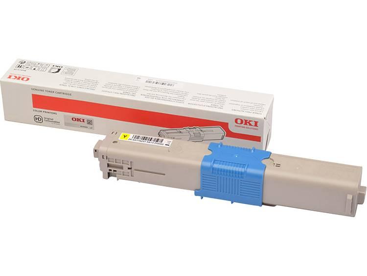OKI Tonercassette C332 MC363 46508713 Origineel Geel 1500 bladzijden