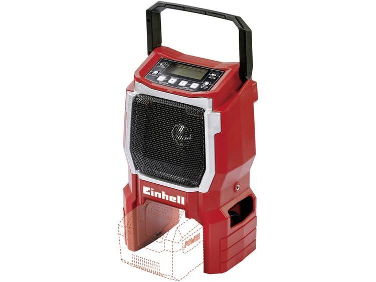 Einhell Power X-Change TE-CR 18 Li - Solo Bouwradio FM AUX Rood