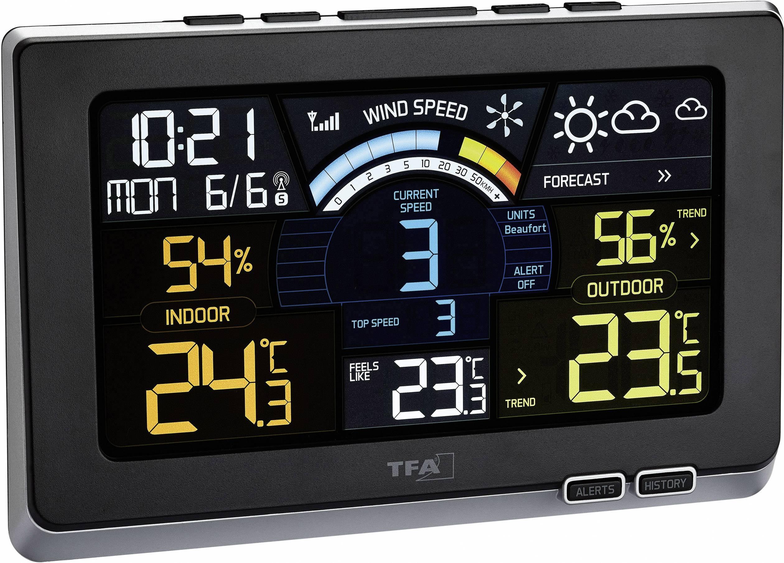 Conrad-TFA Dostmann Spring Breeze 35.1140.01 Draadloos weerstation-aanbieding