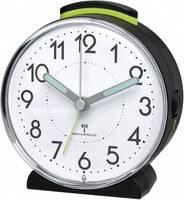 tfa 601515 zendergestuurd wekker zwart alarmtijden 1 fluorescerende wijzers