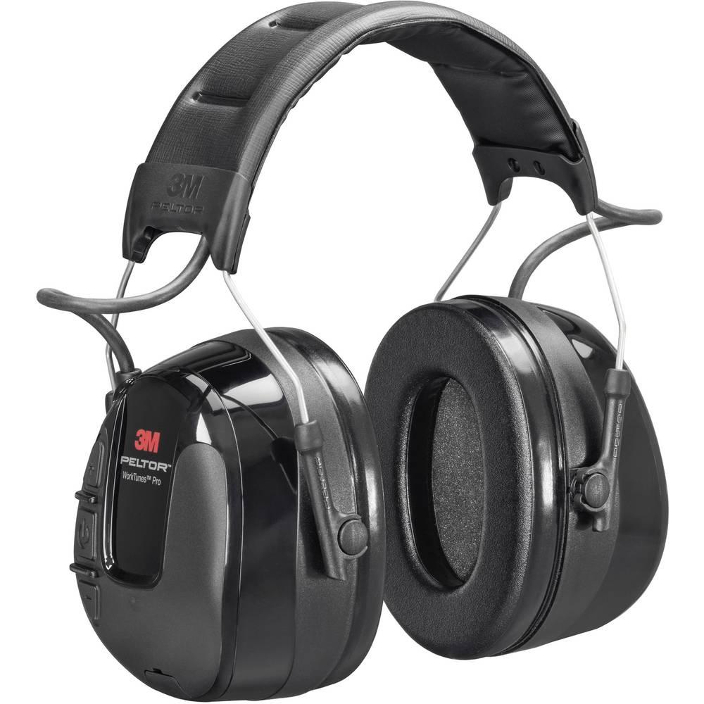 3M Peltor WorkTunes Pro HRXS220A Hörselkåpor-headset 32 dB 1 st