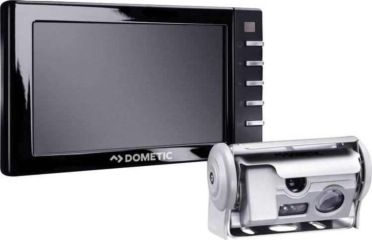 Dometic Group PerfectView RVS 594 Kabelgebonden achteruitrijcamera systeem Afstandshulplijnen. 3 camera-ingangen. Extra IR-verlichting. Shutter. Geïntegreerde