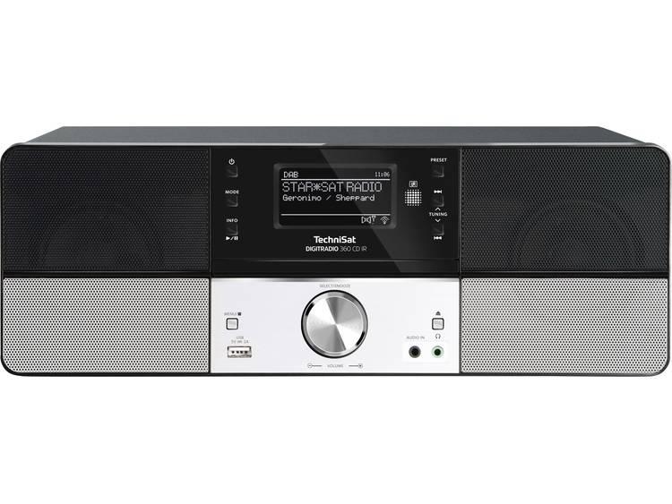 TechniSat DIGITRADIO 360 CD IR Internet Tafelradio CD, DAB+, WiFi, USB, FM, LAN,