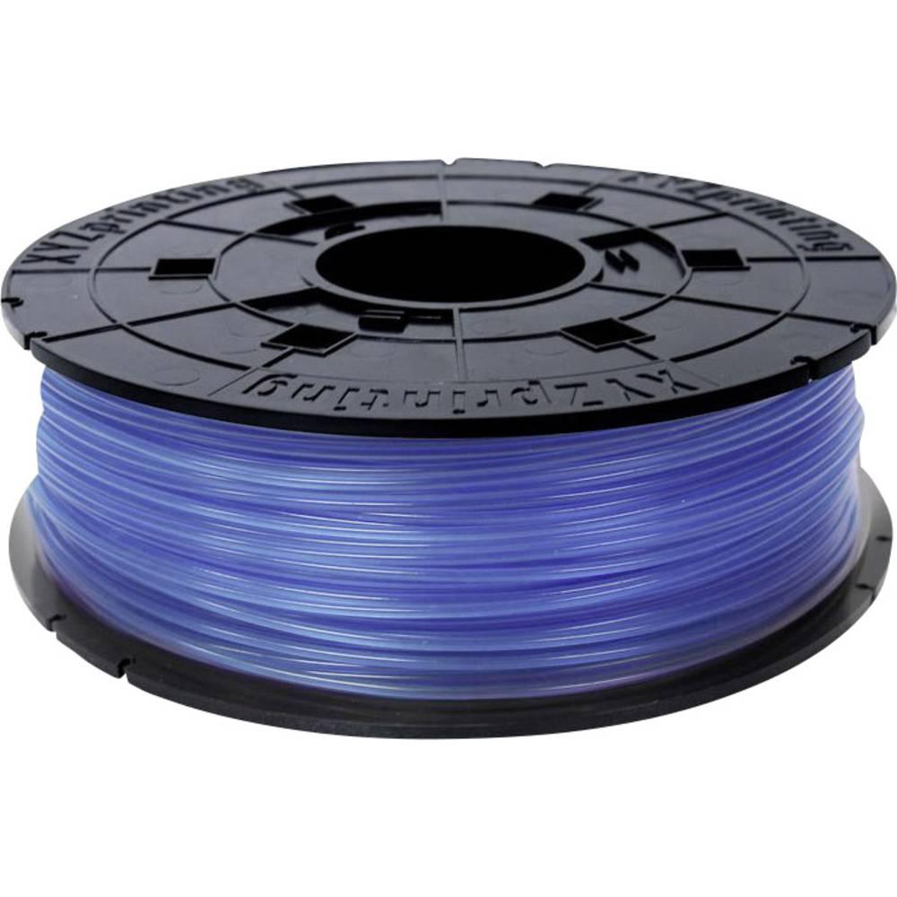 3D-skrivare Filament XYZprinting PLA-plast 1.75 mm Blå (klar) 600 g Junior