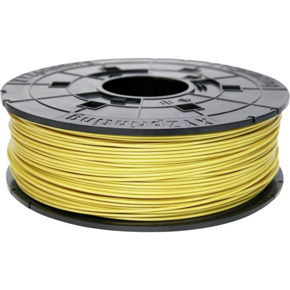3D-skrivare Filament XYZprinting PLA-plast 1.75 mm Guld 600 g Junior