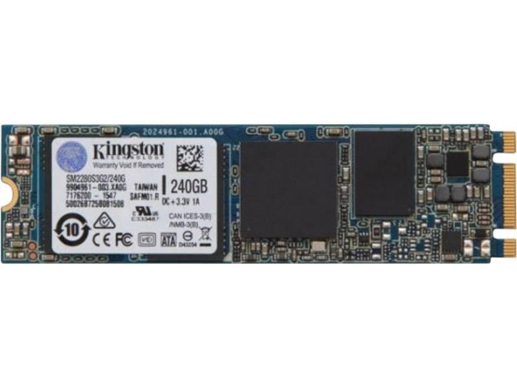 SATA M.2 SSD 2280 harde schijf 240 GB Kingston Retail SM2280S3G2/240G M.2