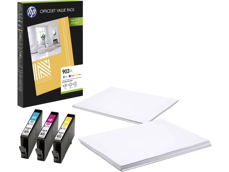 HP 903 XL Cartridge Combipack Origineel Cyaan, Magenta, Geel 1CC20AE Cartridge multipack