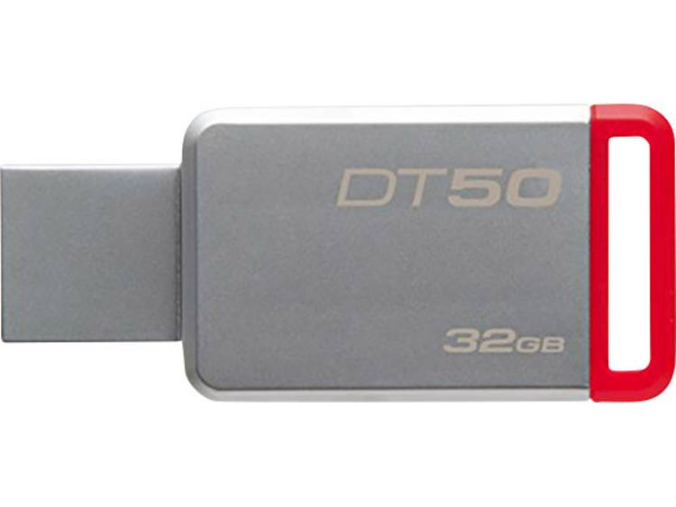 Kingston DT50 USB-stick 32 GB Zilver DT50/32GB USB 3.1