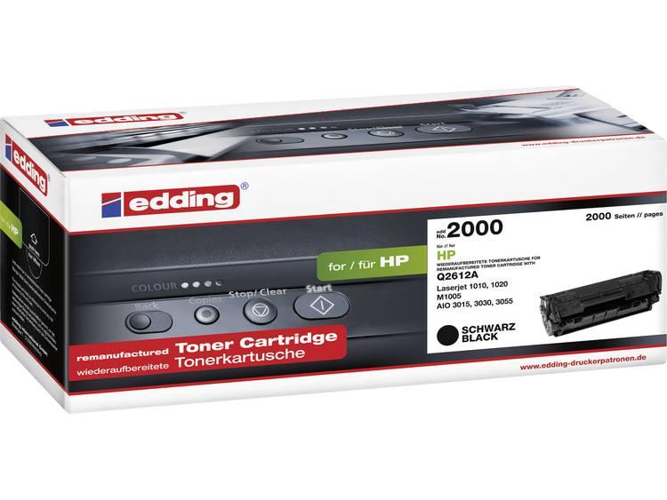 Edding Tonercassette vervangt HP 12A, Q2612A Compatibel Zwart 2000 bladzijden EDD-2000