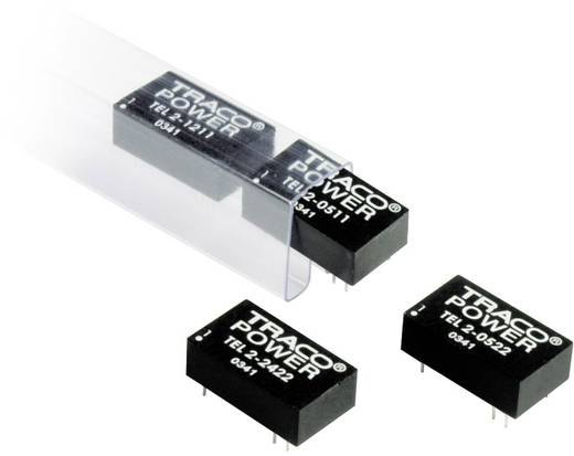 TracoPower TEL 2-2422 DC/DC-converter, print 24 V/DC 12 V/DC, -12 V/DC 83 mA 2 W Aantal uitgangen: 2 x