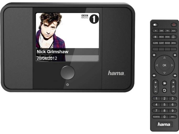 Hama DIT1000MBT Internet Tafelradio AUX, Bluetooth, DAB+, Internetradio, FM, WiF