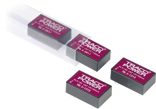 TracoPower TEL 5-1222 DC/DC-converter, print 12 V/DC 12 V/DC, -12 V/DC 250 mA 6 W Aantal uitgangen: 2 x