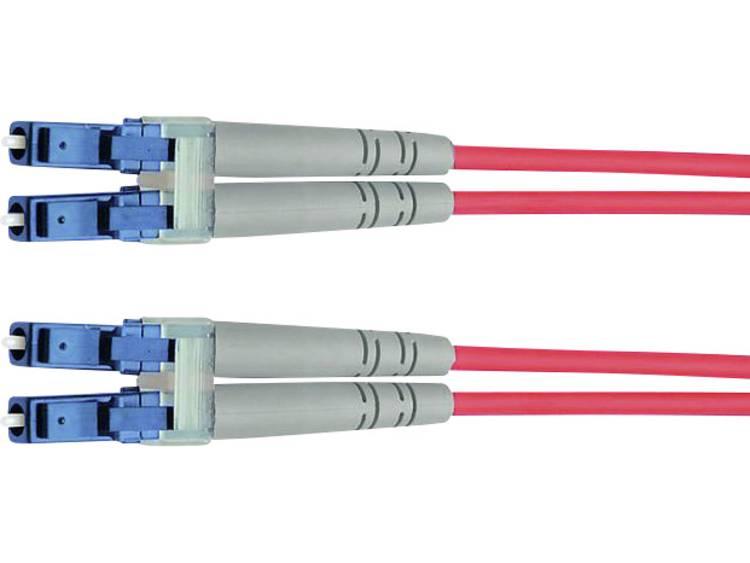 Kabel Telegärtner Glasvezel [1x LC-stekker - 1x LC-stekker] 9/125µ 1 m