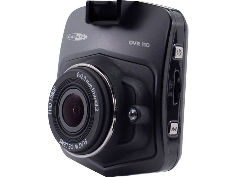 Caliber Audio Technology DVR110 Dashcam Kijkhoek horizontaal (max.) 140 ° Microfoon, Display, Accu