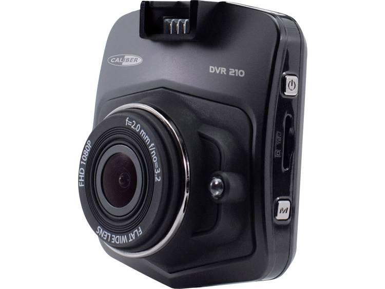 Caliber Audio Technology DVR210 Dashcam met GPS Kijkhoek horizontaal (max.) 140 ° Accu, Display, Microfoon
