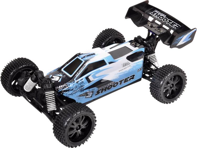 T2M 1:10 Brushed RC auto Elektro Buggy 4WD RTR 2,4 GHz Incl. accu en lader