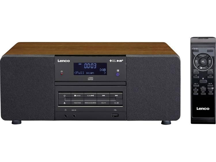 Lenco DAR-050 DAB+ Tafelradio CD, USB, AUX, DAB+ Hout