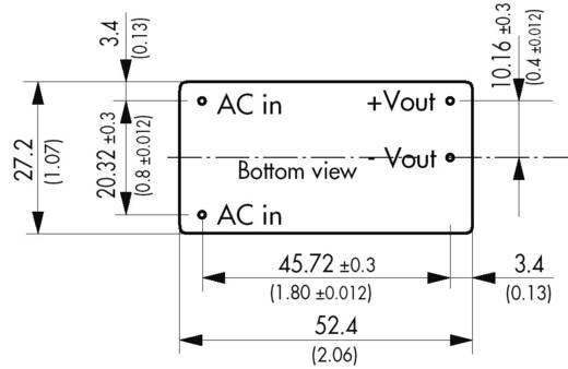 TracoPower TMLM 10124 AC/DC printnetvoeding 24 V/DC 0.417 A 10 W