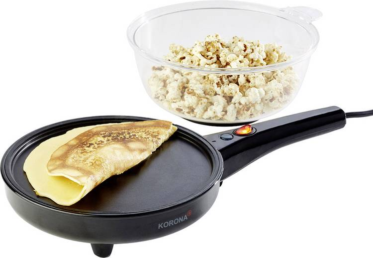 Crêpe maker Korona 41050 Crepes & Popcorn
